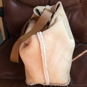GAP Bags - G A P Gap Shearling Winter Crossbody Bag Purse